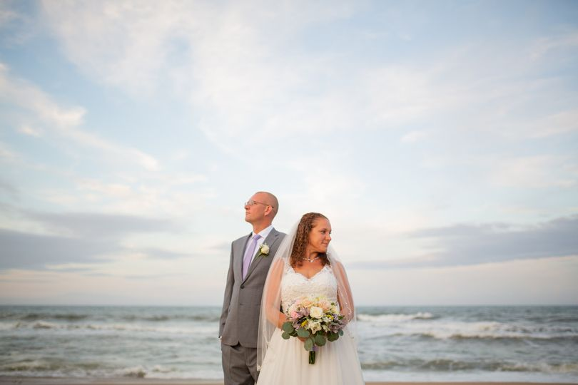 Outer Banks Elopement OBX Wedding Ceremony