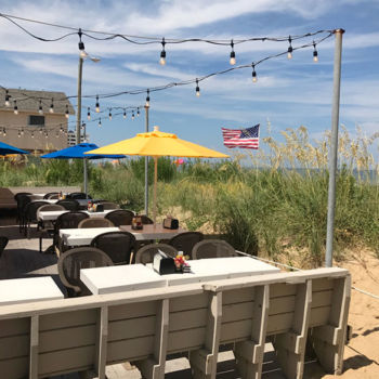 Beachside Bistro is oceanfront dining on the Outer Banks